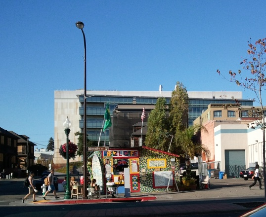 retro Berkeley scene