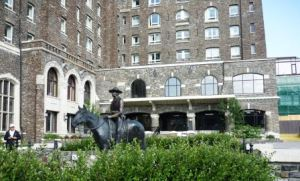 Banff Springs Hotel - original entrance