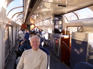 Dome Car on the Coast Starlight