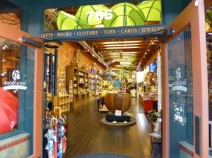 An organic gift shop