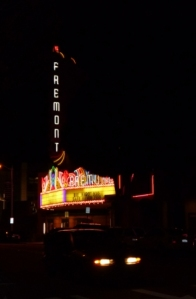 Fremont  Theatre - night