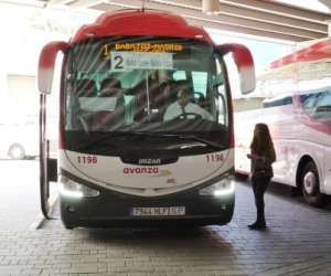 The bus to Badajoz (with a stop at Caceras)
