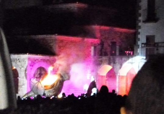 Festival's fiery end