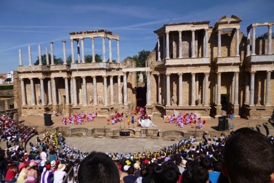 Roman theatre in Merica