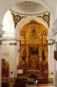 Altarpiece, Church of San Francisco Xavier