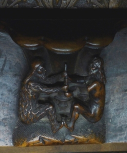 Jacob and Esau? Choir Stall - Toledo