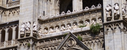 The Last Supper - Toledo Cathedral facade