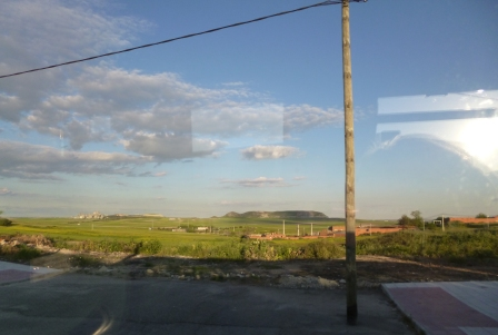 Evening on the bus