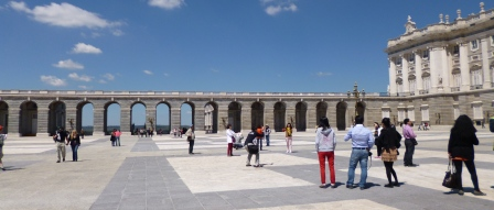 Plaza and Portico and Palace