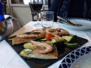 Shrimp Appetizer - Tres Encinas