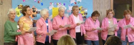 Camp skit - sisters of a certain age