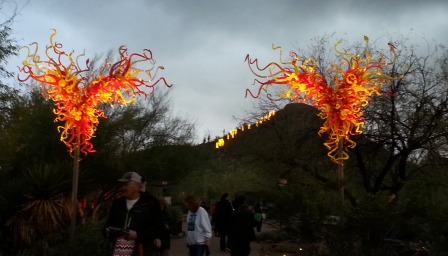 Entrance-Chihuly exhibit